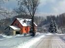 Gruszków zimą